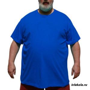 Футболка мужская большого размера