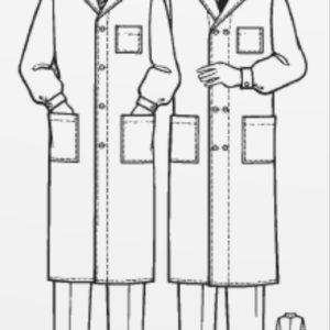 Халат мужской больничный тип А ГОСТ 25194-82