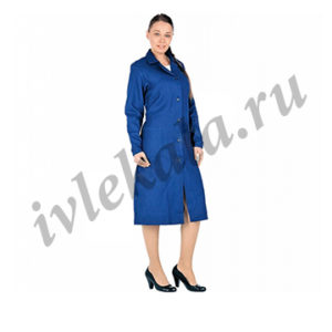 Халат женский рабочий тип А ГОСТ 12.4.131-83
